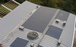 fotovoltaico agraffatura
